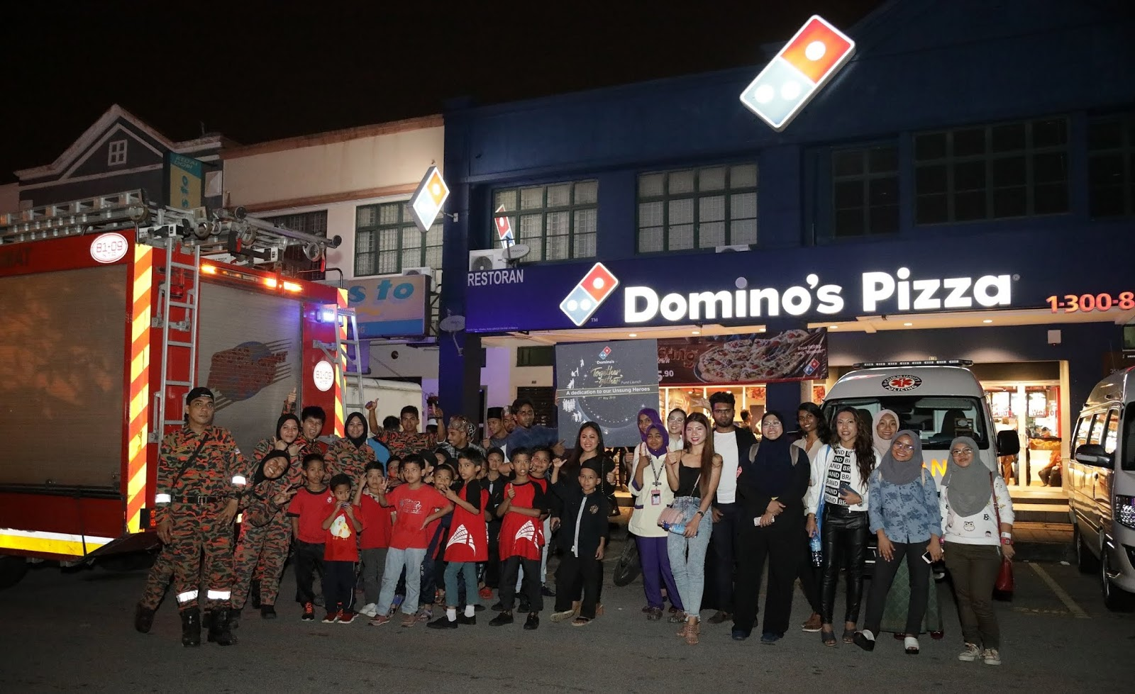 Domino's Launches Together-gether Fund In Honour of Unsung Heroes