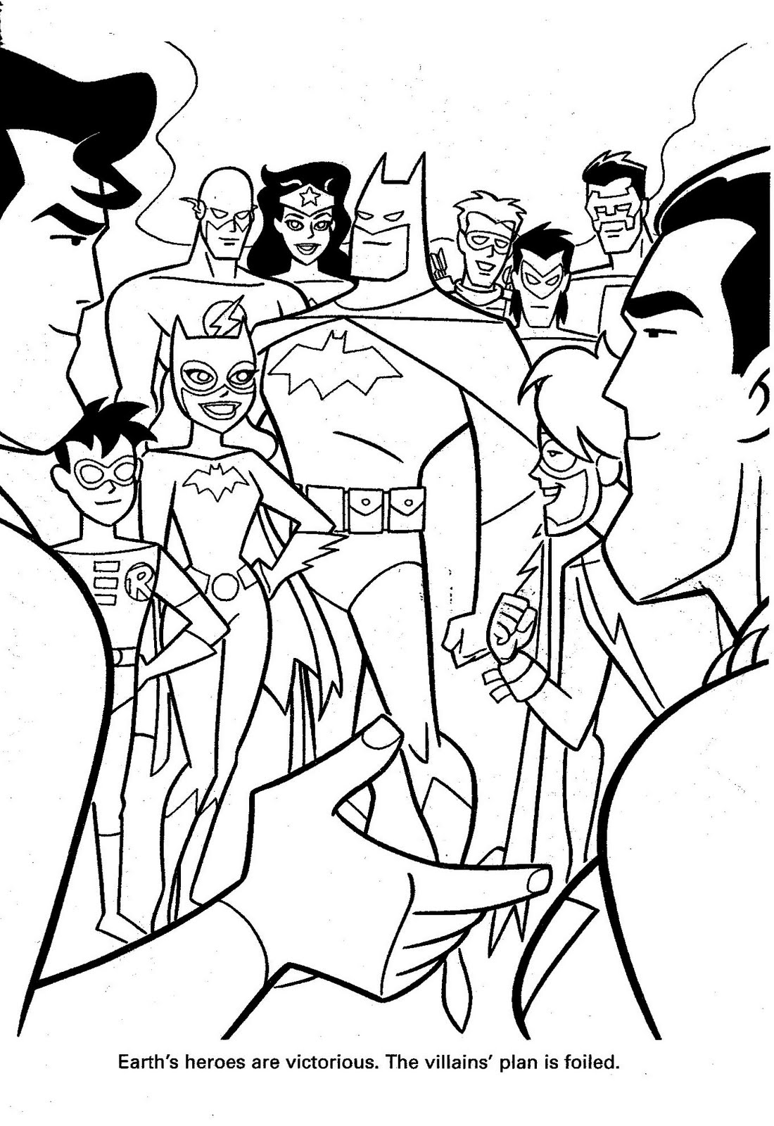 dc little people coloring pages - photo#23