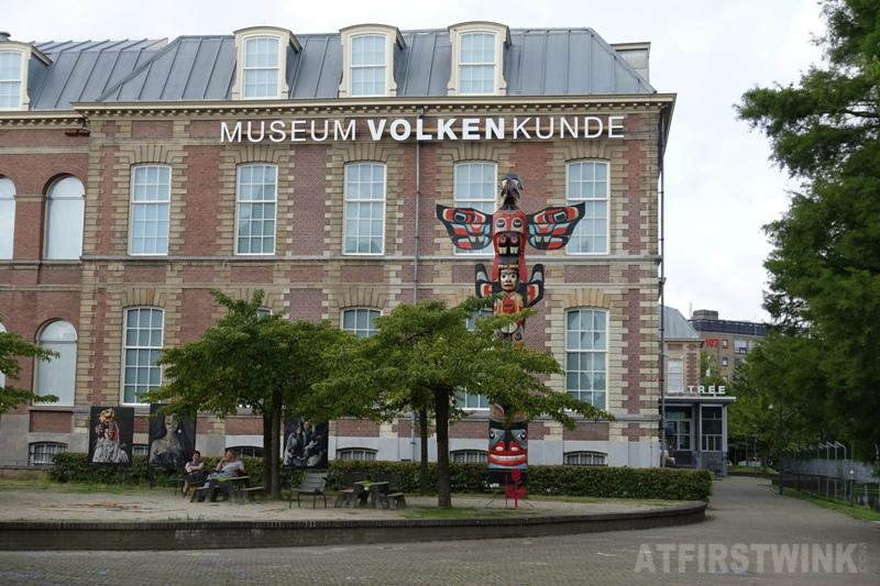 Museum Volkenkunde Leiden the Netherlands totem pole
