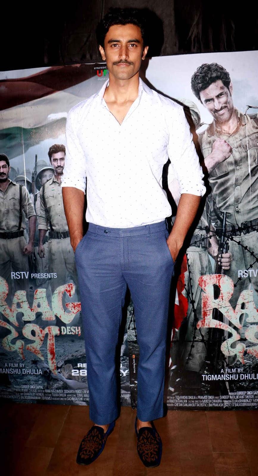 Shruti Haasan at The Premier of 'Raag Desh' at Lightbox In Mumbai
