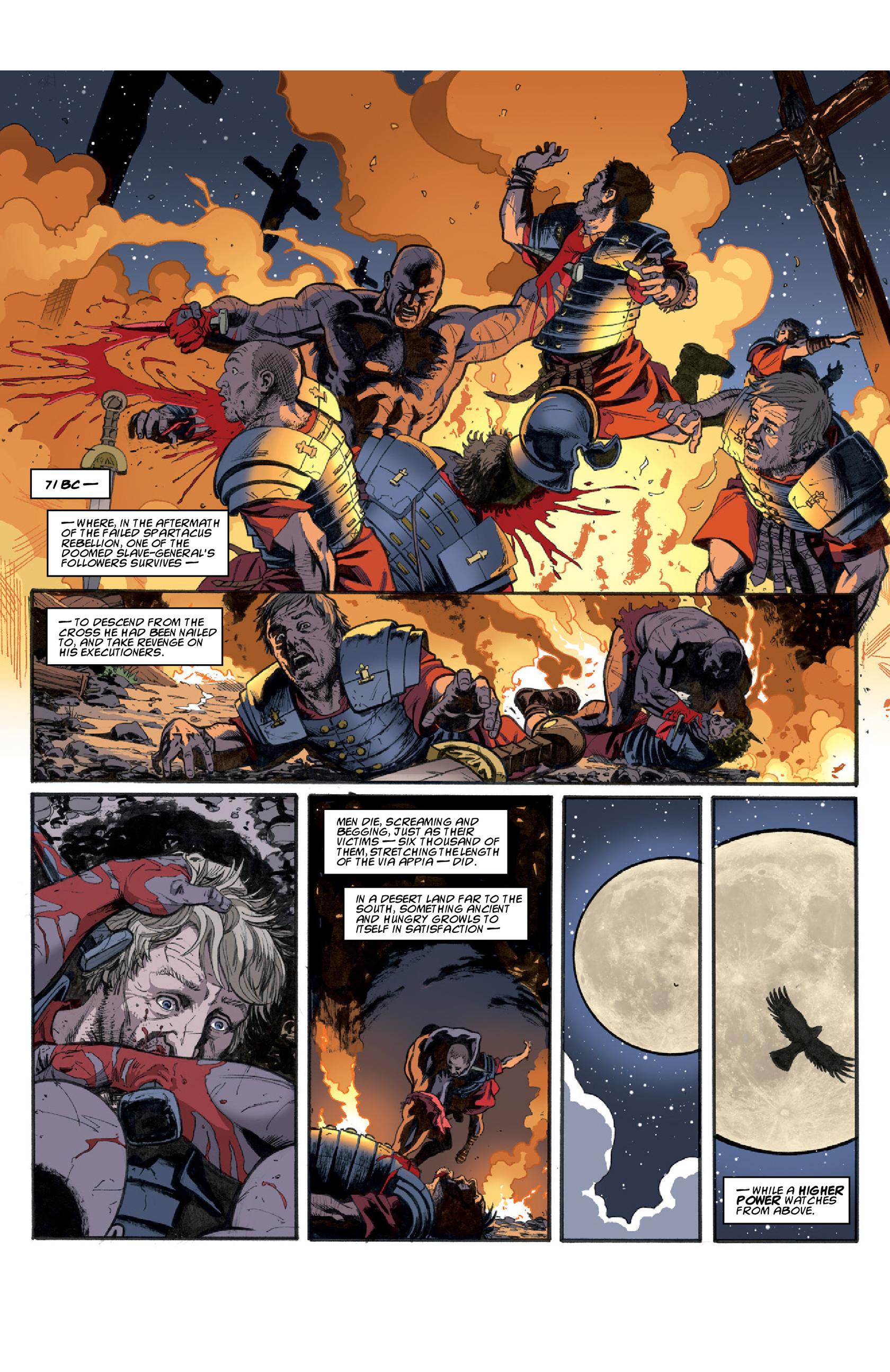 Read online Aquila comic -  Issue #3 - 18