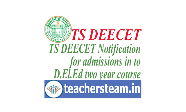 Telangana TS DEECET 2019