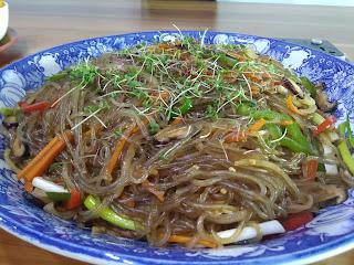 Japchae Vegan Food