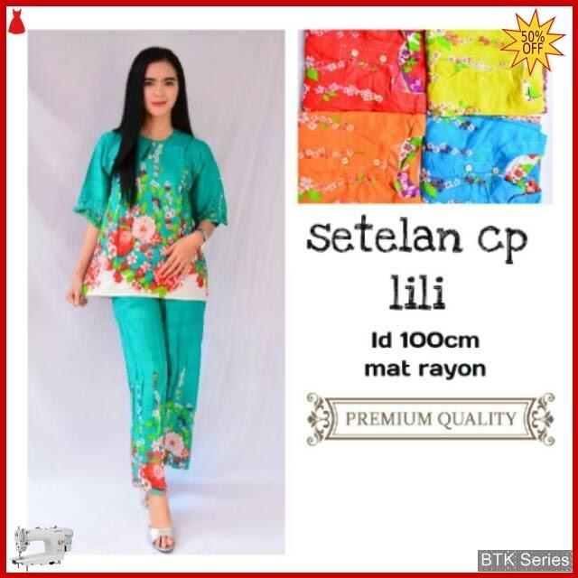 BTK142 Baju Setelan Panjang Lili Baju Murah Murah BMGShop