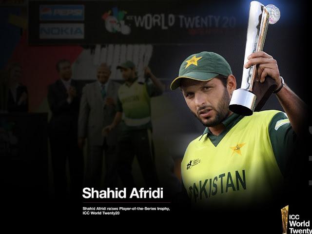 Free Shahid Afridi HD Wallpapers