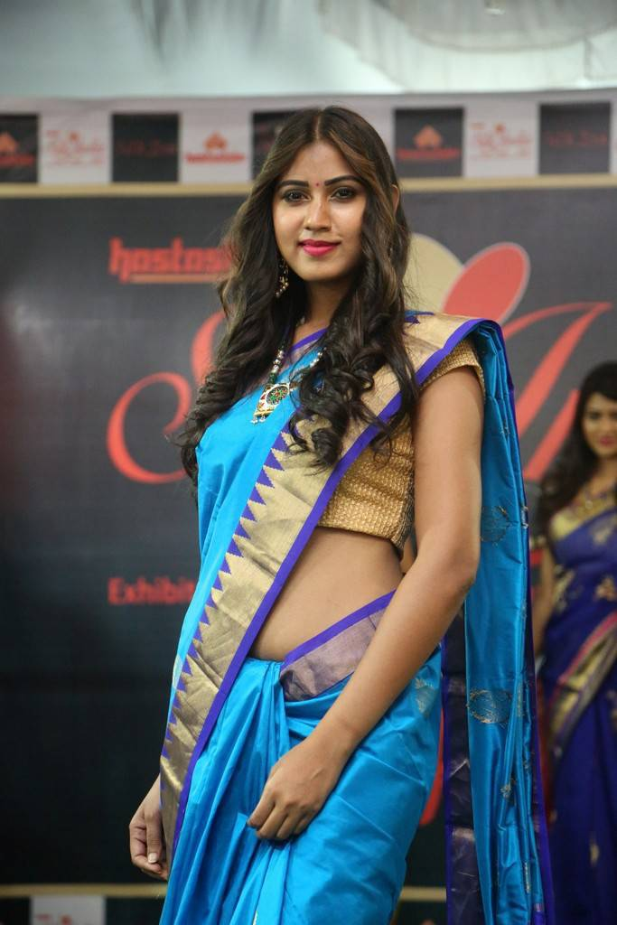 Actress Harathi Honey At Silk India Expo 2017 Stills