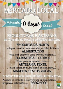 O ROSAL: OS DOMINGOS, MERCADO LOCAL