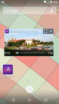 Begini Cara Nonton Video Youtube Sambil buka aplikasi lain