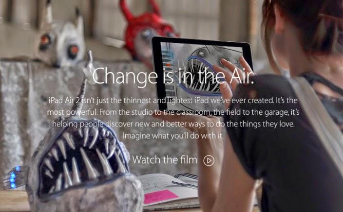 New iPad 2 Campaign