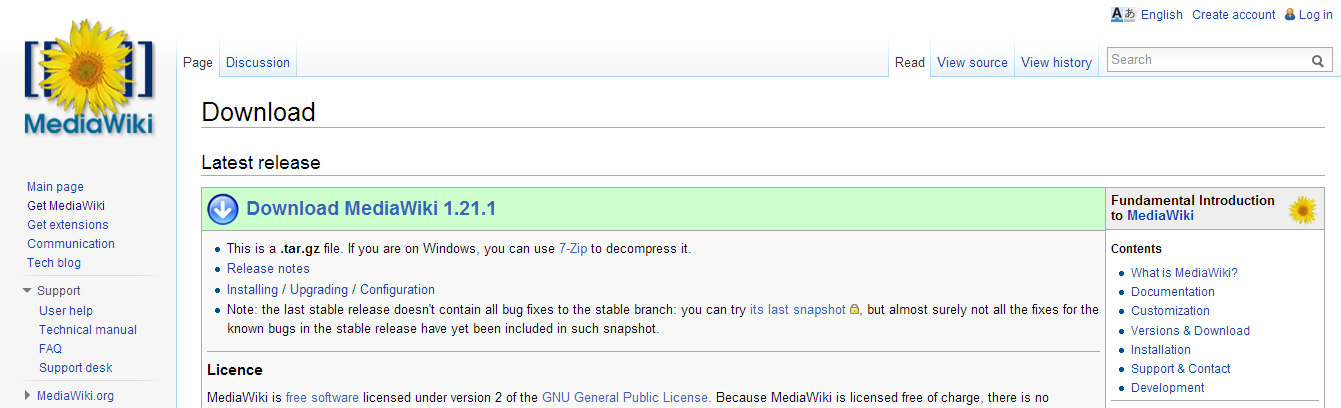Download Wikipedia Website Template | Bloggerz Adda