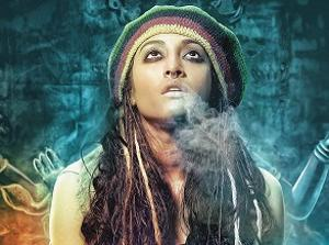 Drug addict Paoli Dam in film Devi