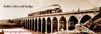 India's first rail bridge