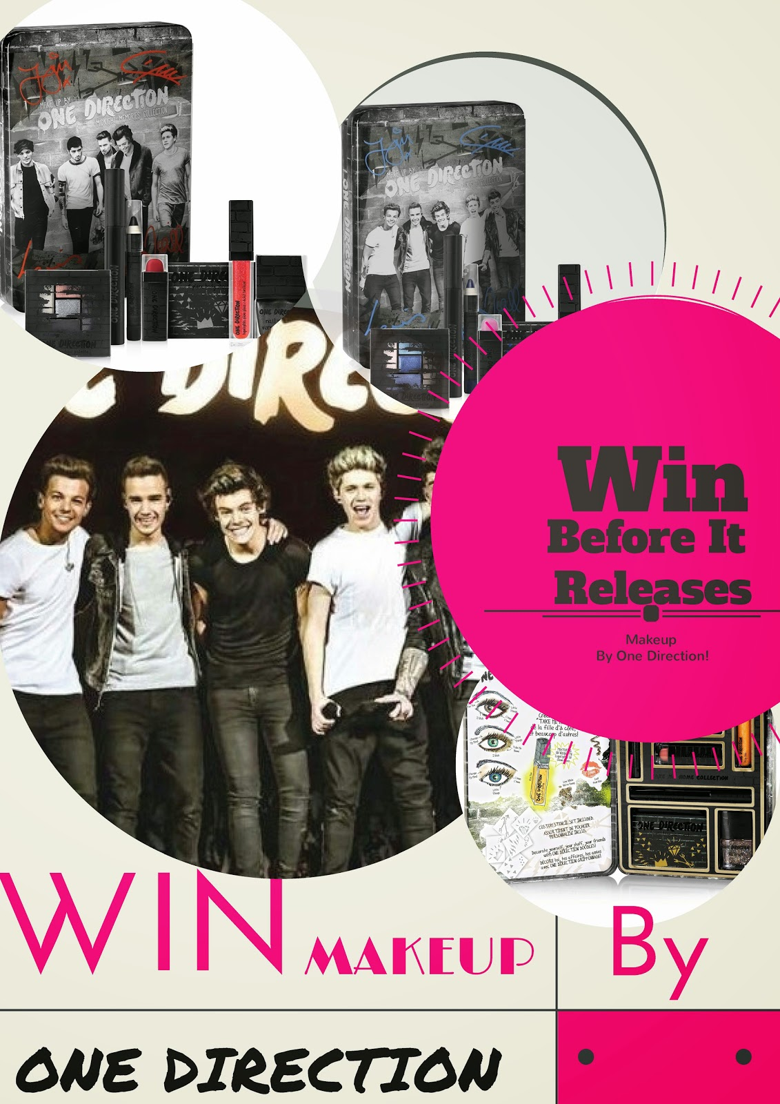 One Direction's New Makeup Line Release Date & Giveaway, By Barbie's Beauty Bits