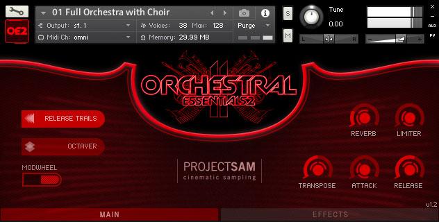 ProjectSAM - Orchestral Essentials 2 v1.2 KONTAKT Library