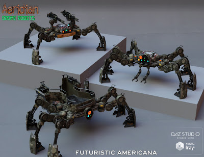 Aeridian Drone Robots
