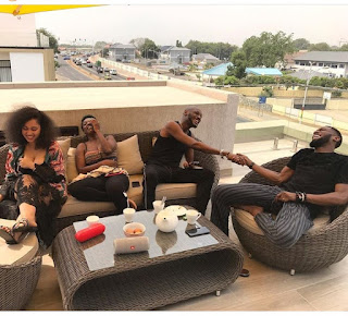 Tuface and dbanj spends vacation together