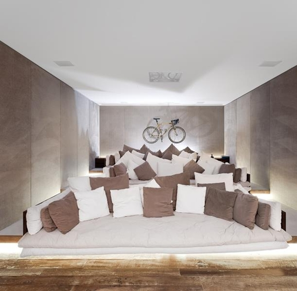Tips For Home Theater Room Design Ideas: World Of Architecture: 16 Simple, Elegant And Affordable