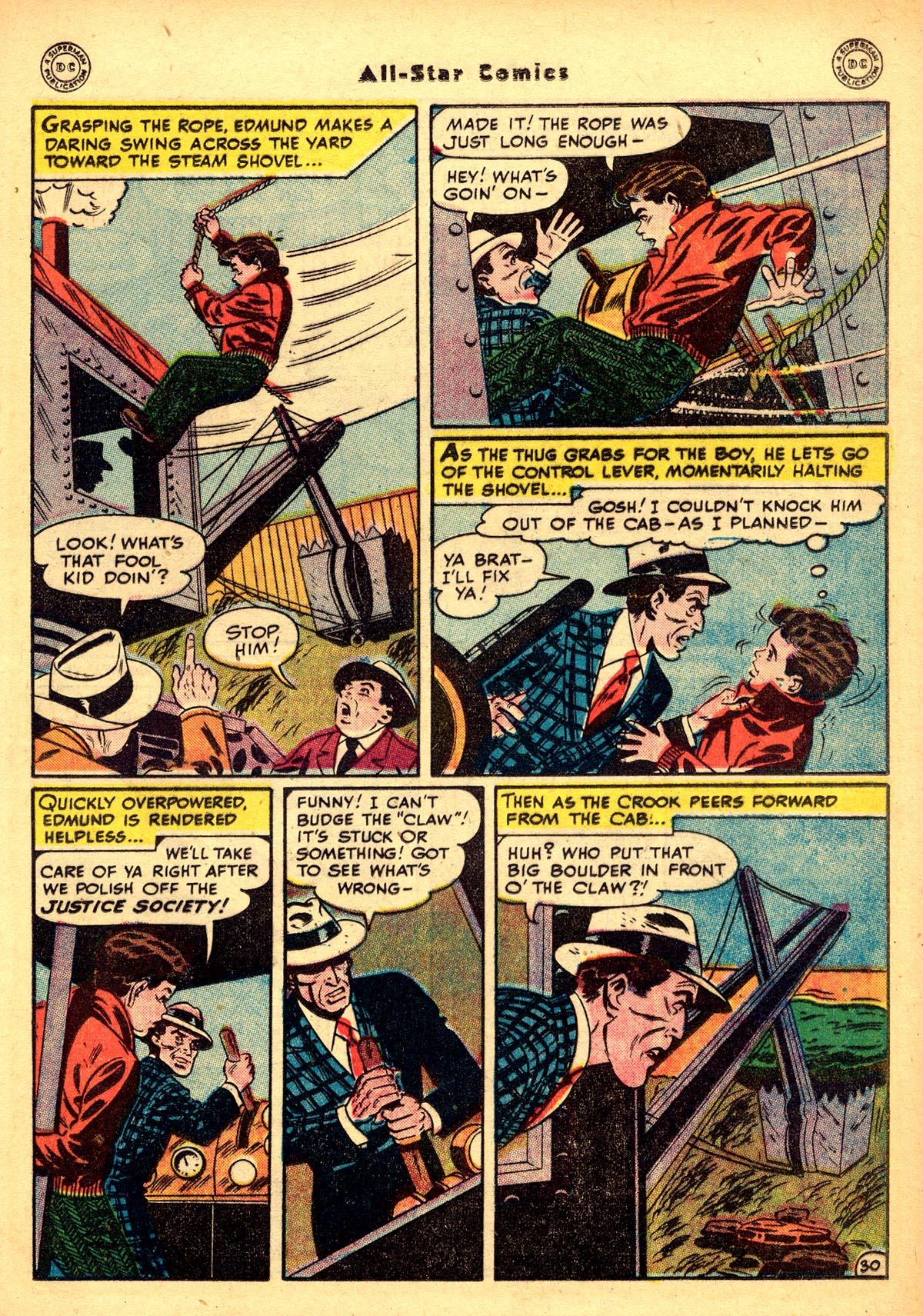 Read online All-Star Comics comic -  Issue #48 - 35
