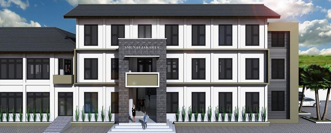 Model Bangunan Sekolah Modern Inspiratif