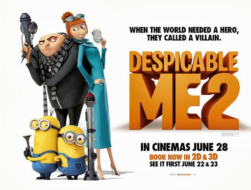 [Phim] Kẻ Cắp Mặt Trăng 2 | Despicable Me 2013