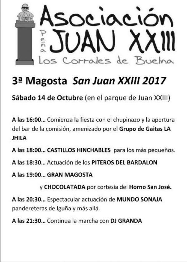 III Magosta de la peña Juan XXIII