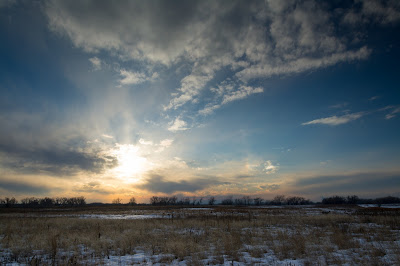 Sunset, Rocky Mountain Arsenal National Wildlife Refuge