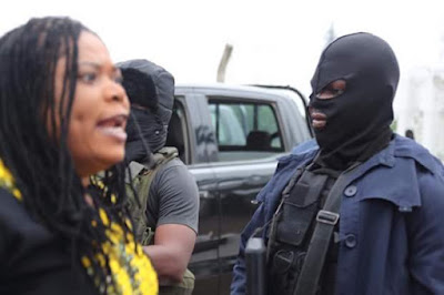 Female Lawmaker Dares DSS Men, says