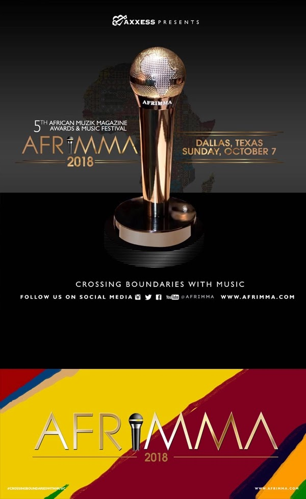AFRIMMA 2018: See Full List Of Nominees