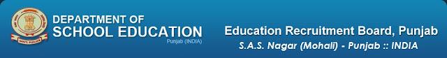 Punjab School Education Recruitment educationrecruitmentboard.com
