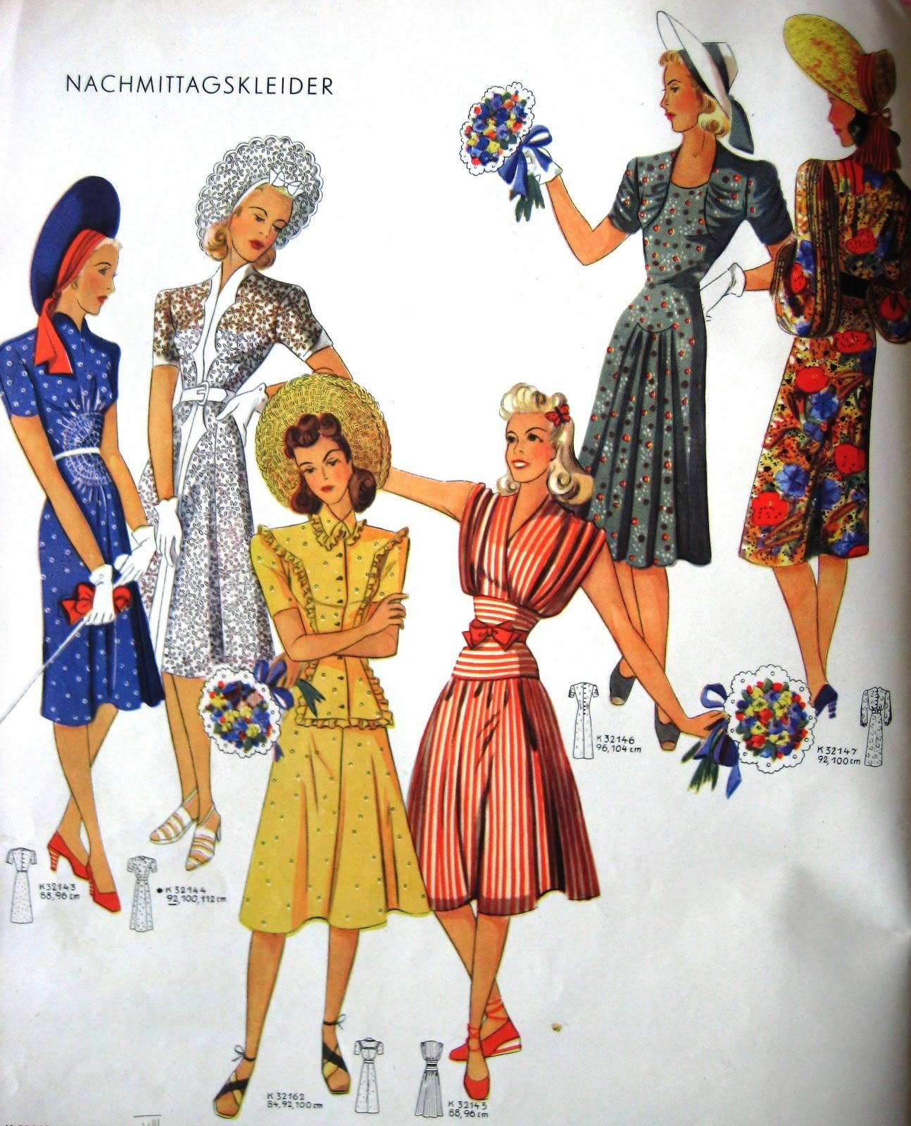Fashion: Sew Something Vintage: 1940s Fashion