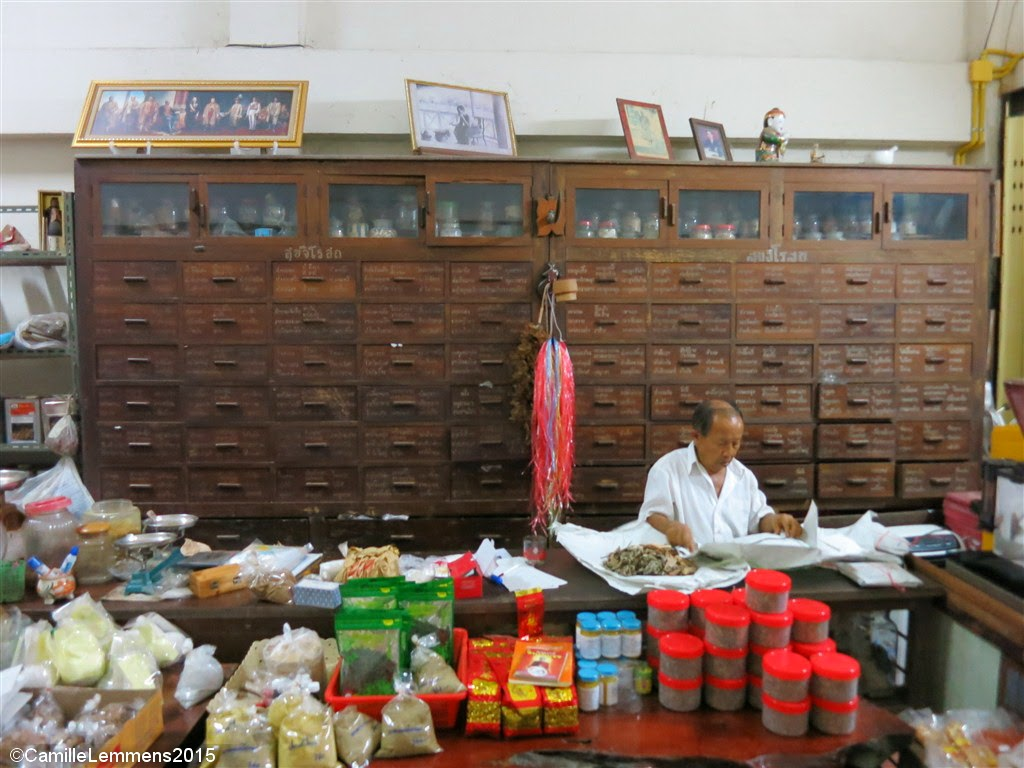 Traditional herbal shop in Takua Pa