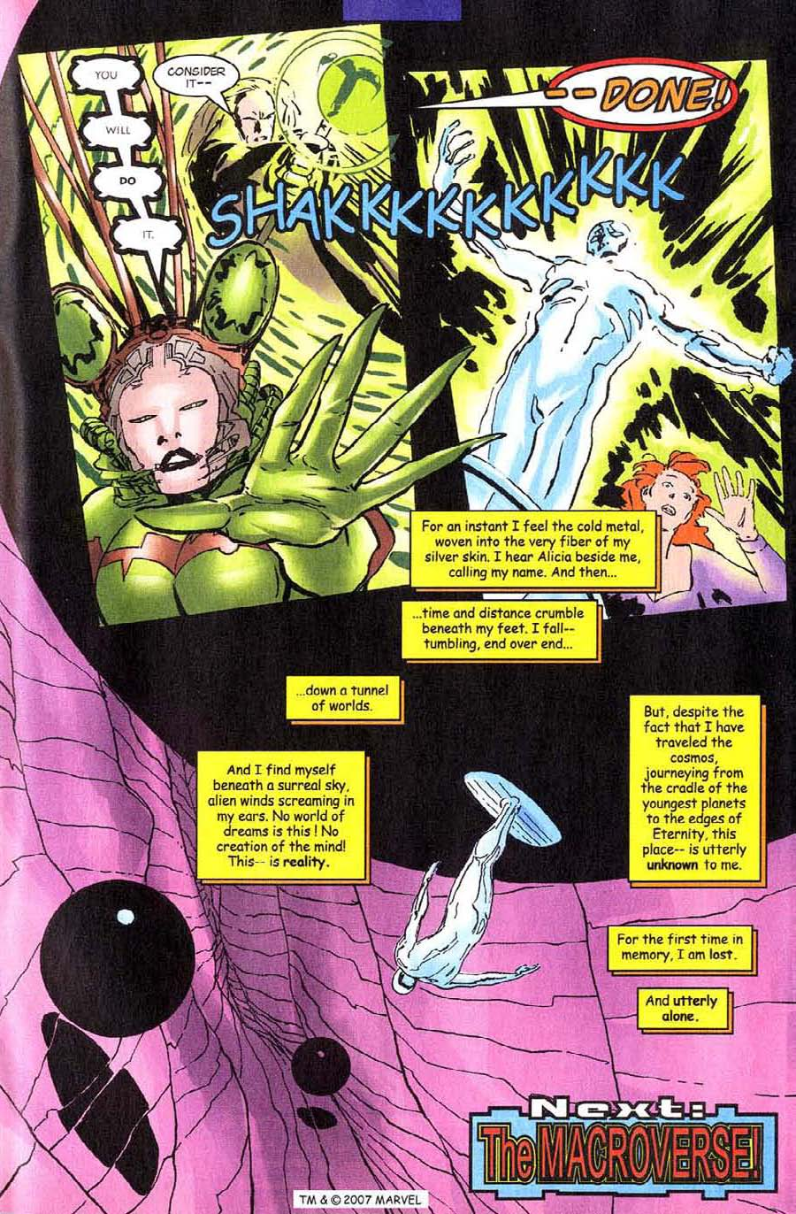 Read online Silver Surfer (1987) comic -  Issue #140 - 35