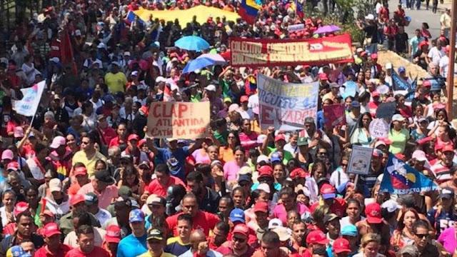 """""""80 % de venezolanos rechaza cualquier intervención en su país"""""""