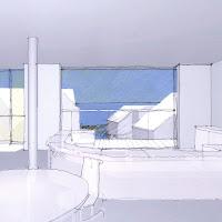 鎌倉の海を望む 白い散歩道のような住まい