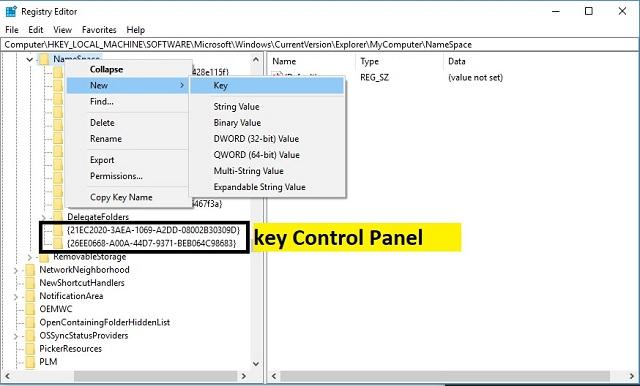 Cara menambahkan Control Panel ke File Explorer 3