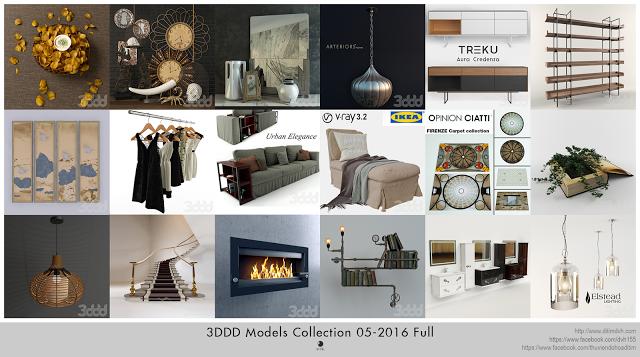 3DDD Models Collection 05-2016 Full | bibliothèque ...