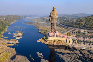 unity construction, Sardar Patel's Statue of Unity ,Sardar Patel statue, Gujarat government, How to book your ticket to the Statue of Unity ,3-star hotel inside the complex.