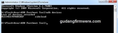 Cara flash Asus Zenfone3 Z012D - ZE552KL