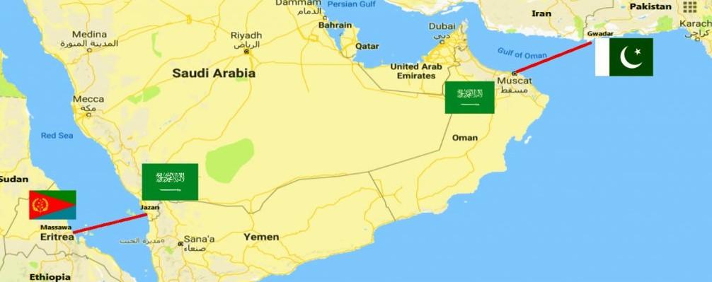 <Saudi Arabia considering linking Jazan with Massawa in Eritrea via 440 km tunnel across the Red Sea