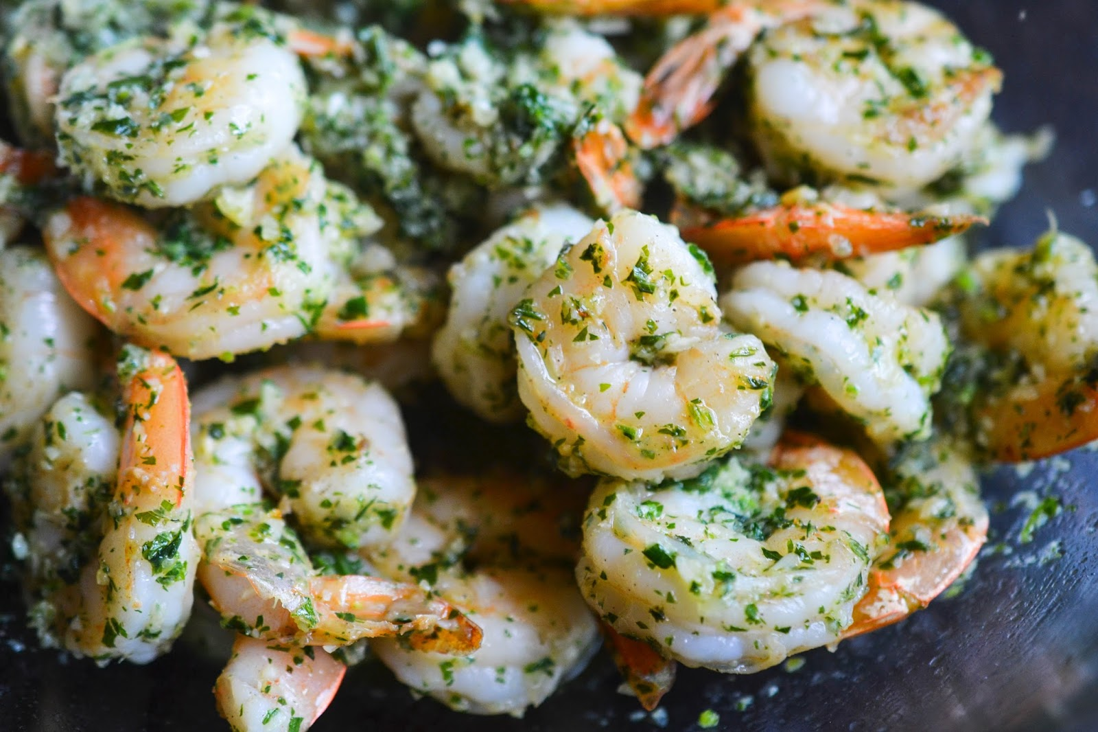Greedy Girl : Garlic Shrimp