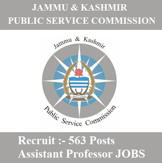 Jammu and Kashmir Public Service Commission, JKPSC, PSC, Jammu and Kashmir, Assistant Professor, Post Graduation, freejobalert, Sarkari Naukri, Latest Jobs, jkpsc logo