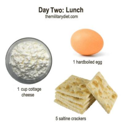 pengalaman diet militer