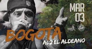 Concierto de AL2 El Aldeano en Bogotá