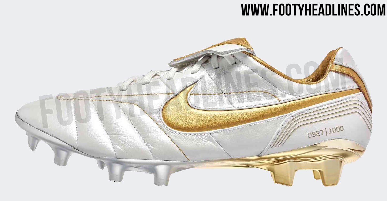4908fb2ae ... sweden a stunning look inspired by the white and golden nike air legend  2005 ronaldinho signature