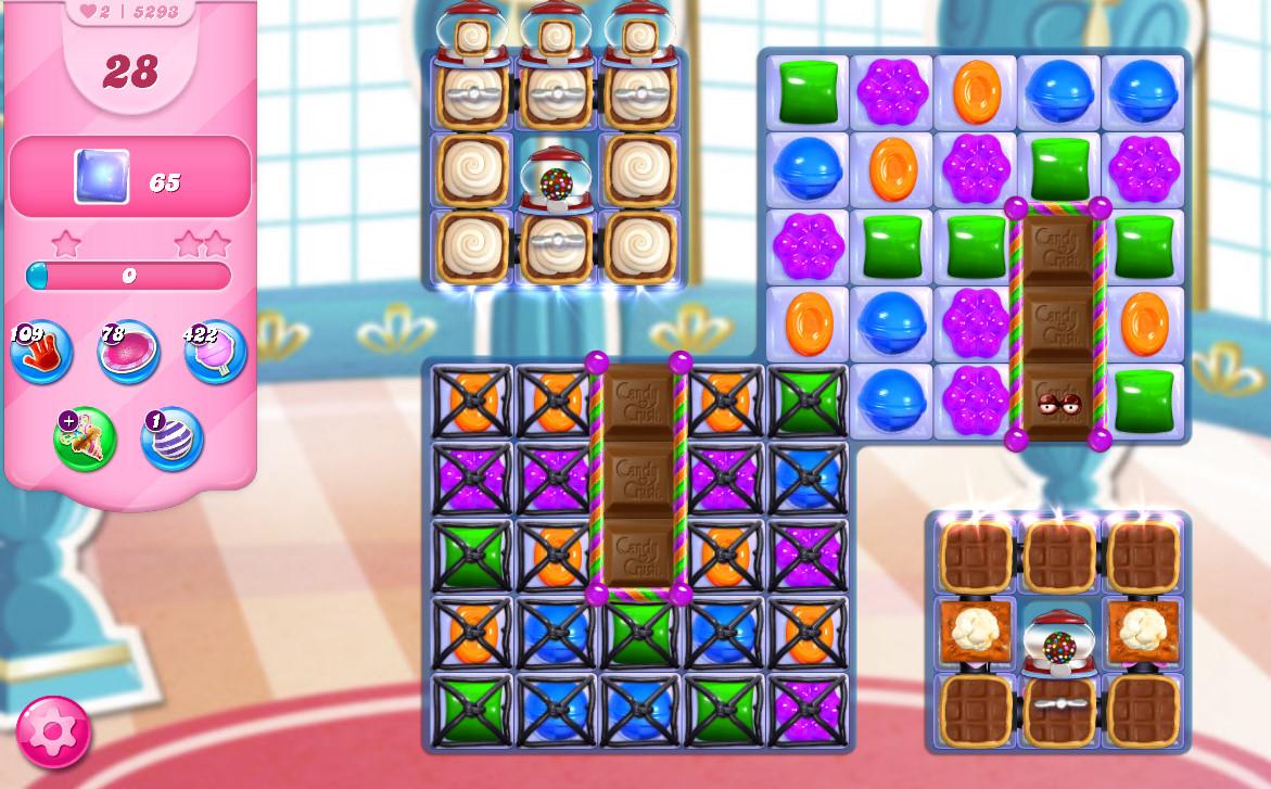 Candy Crush Saga level 5293