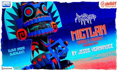 Mictlan Unruly Variant Vinyl Figure by Jesse Hernandez x Unruly Industries x Sideshow