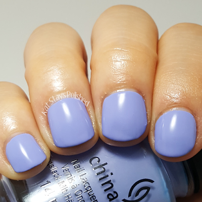 China Glaze Seas and Greetings - Good Tide-Ings | Kat Stays Polished