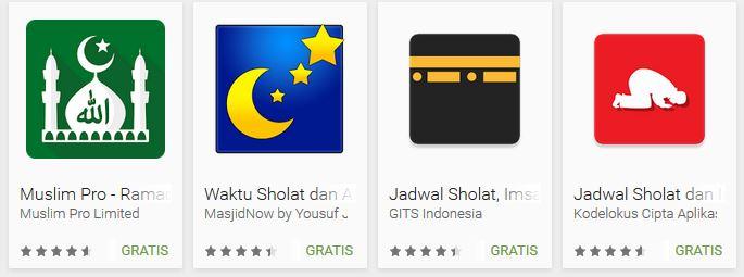 15 Aplikasi Adzan Pengingat Waktu Sholat Terbaik di Android