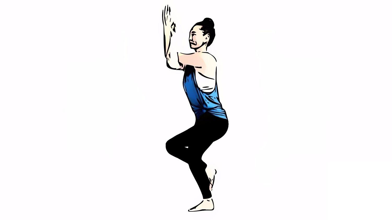 How to Do Garudasana
