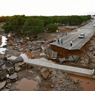FOTOS: huracan willa Desaparece un pueblo completo en nayarit.